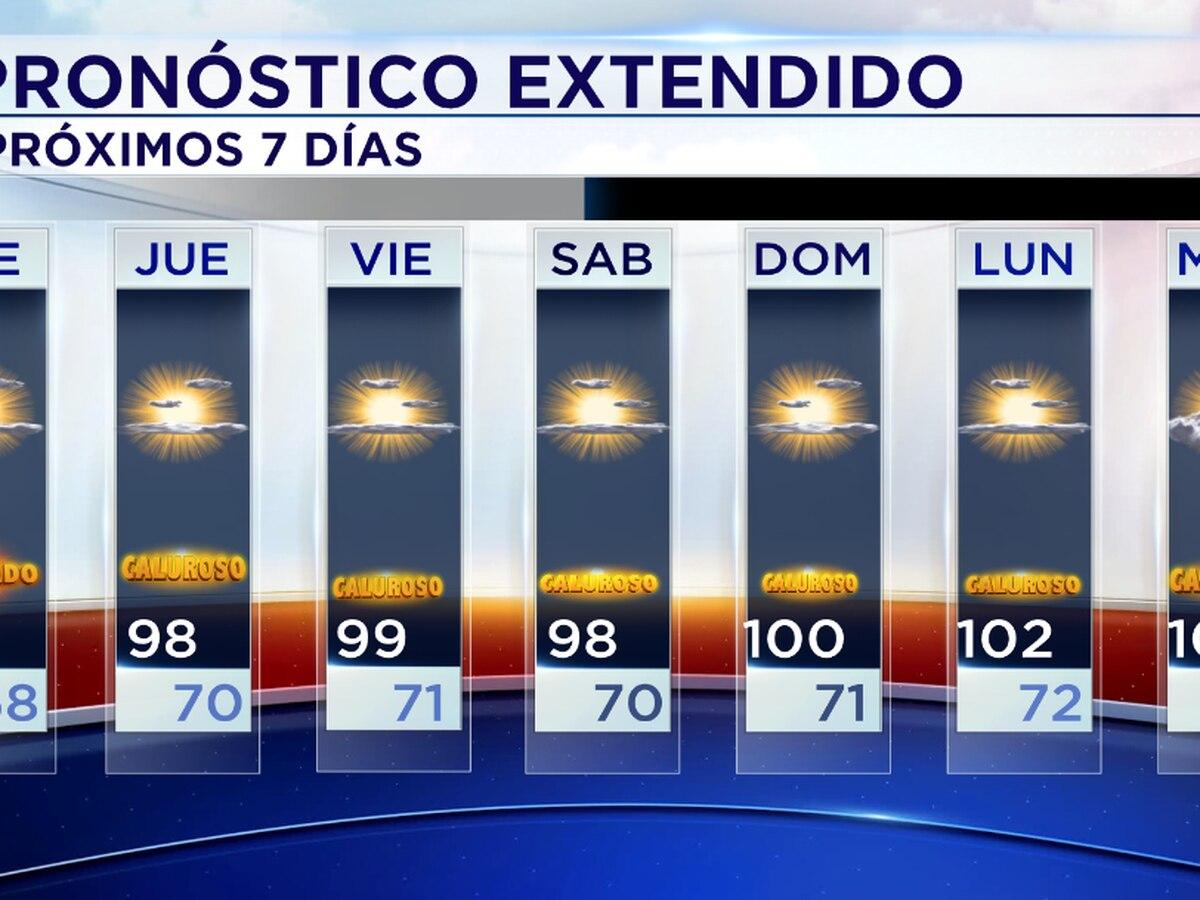 Durante los próximos días se pronostica intenso calor.