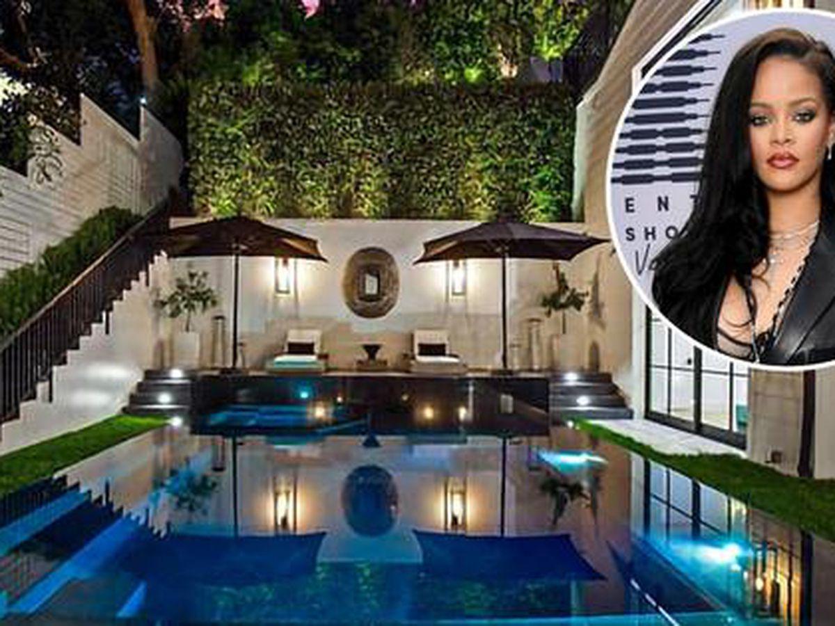 Rihanna pagó $13.8 millones por esta lujosa y enorme casa en Beverly Hills