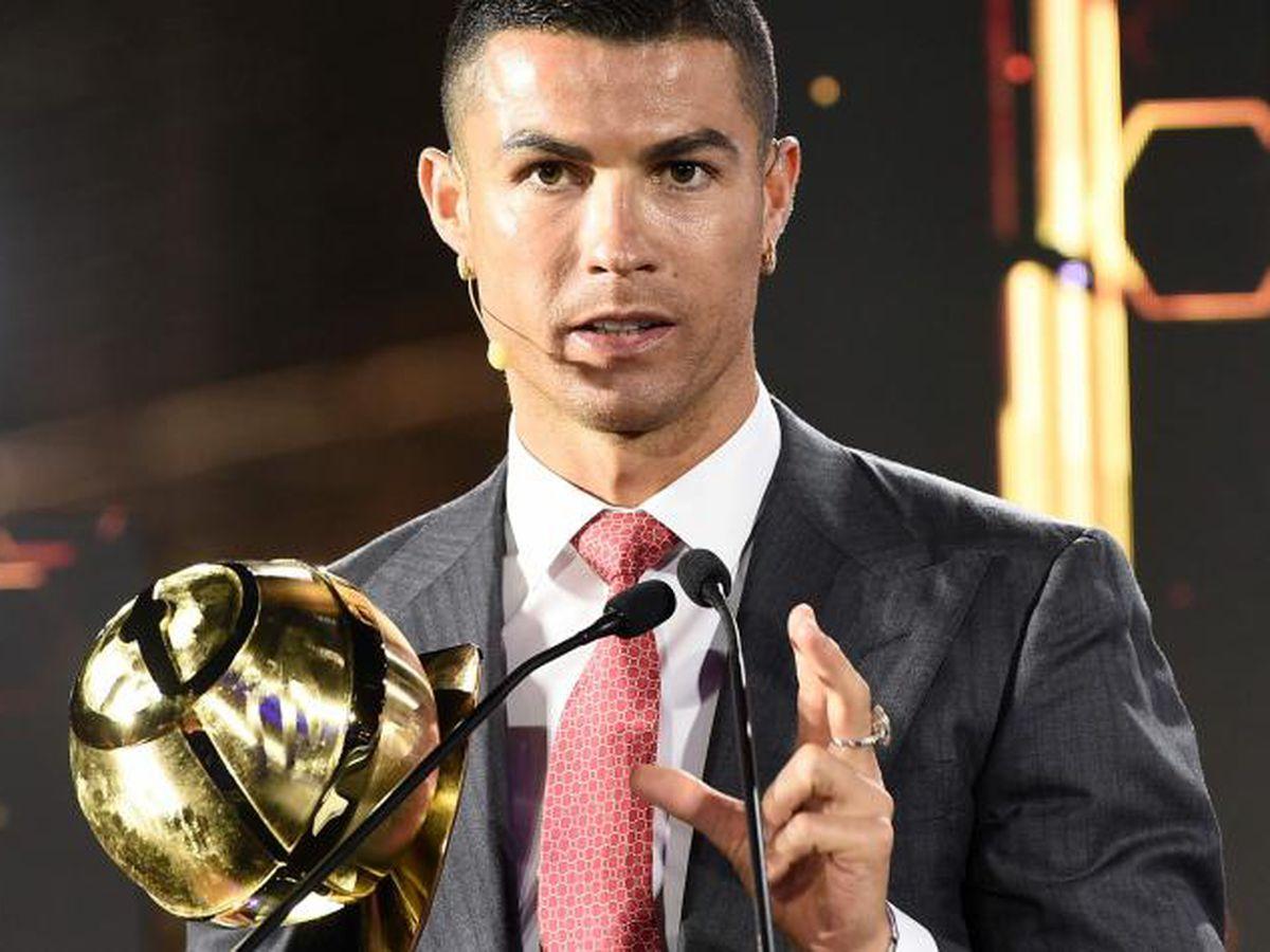 Cristiano Ronaldo, elegido como el mejor jugador del siglo