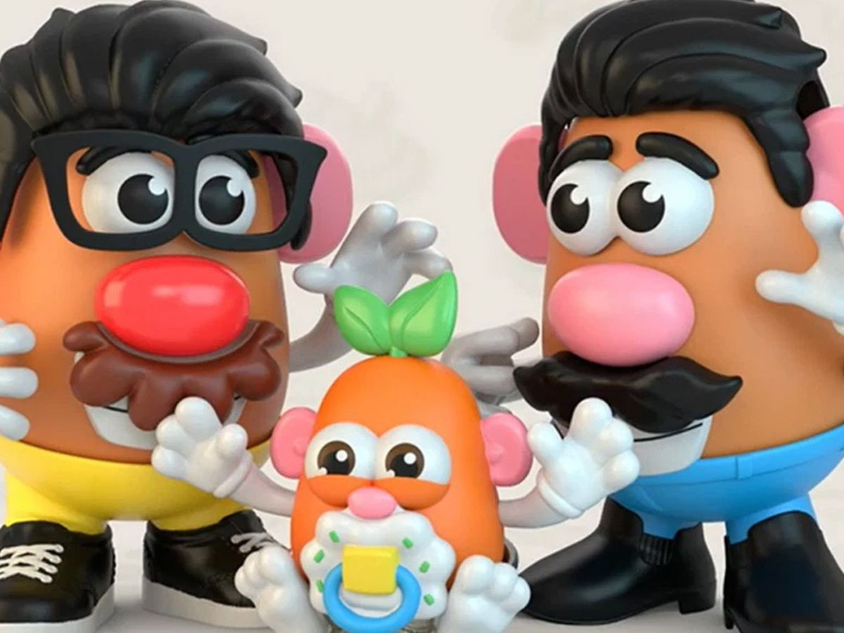 Hasbro decide que Mr. Potato sea de género neutro y le cambia el nombre a la marca