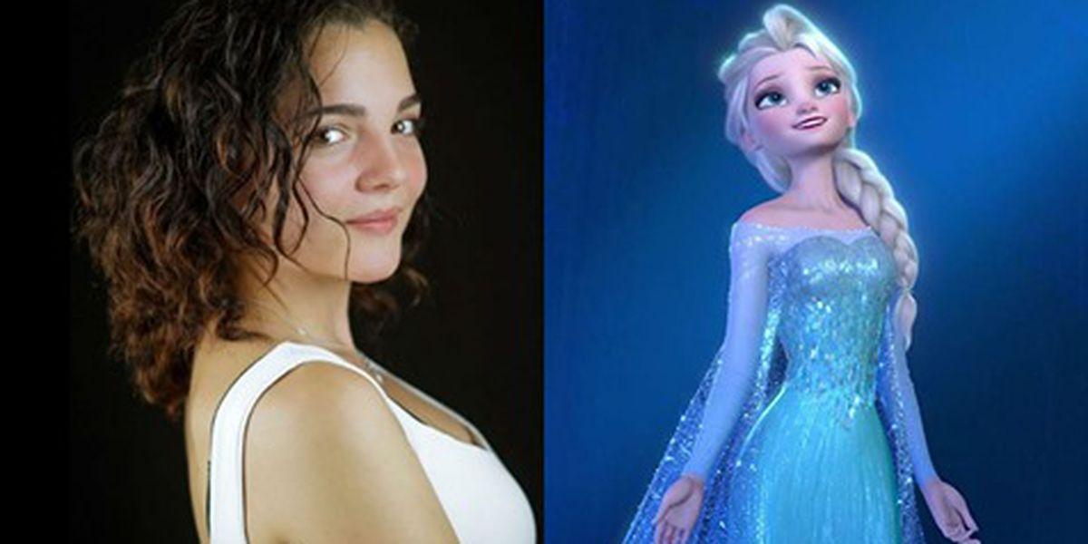 """Andrea Arruti, voz en español de Elsa en """"Frozen"""", murió a los 21 años"""