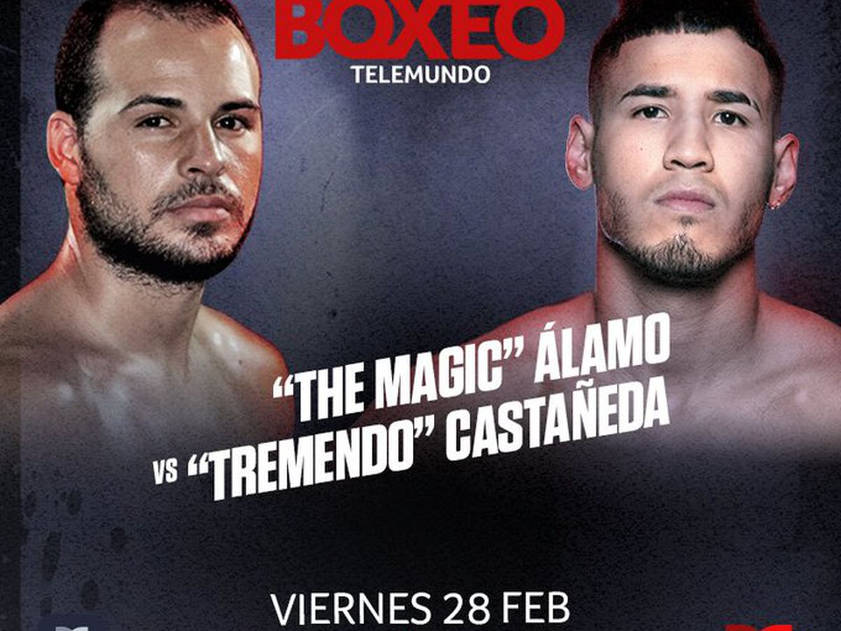YOMAR ALAMO VS. KENDO CASTANEDA, LISTOS PARA BOXEO TELEMUNDO