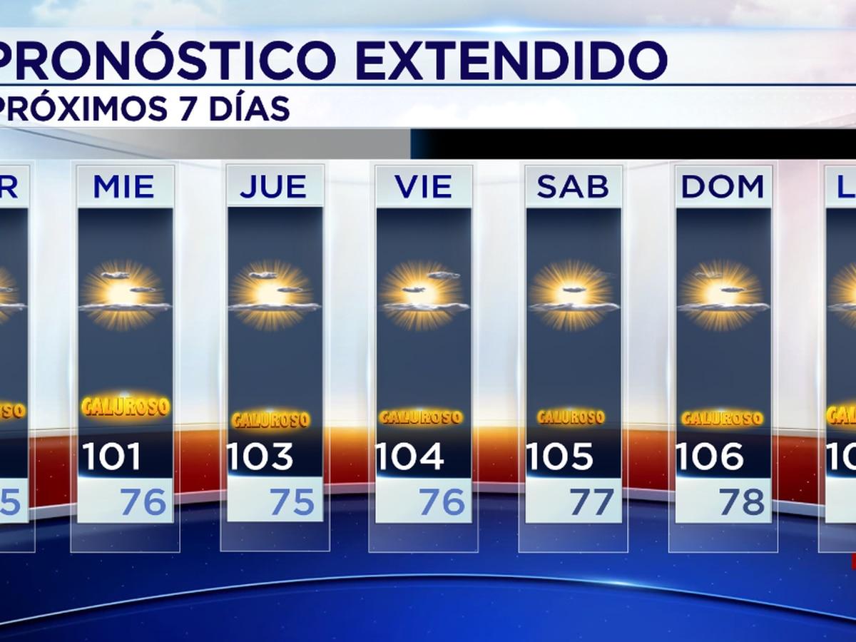 Se pronostica el ascenso de temperaturas para los próximos días.