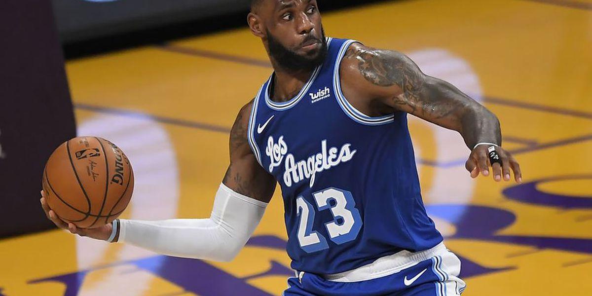 Lakers y LeBron James apalean sin problemas a los Timberwolves