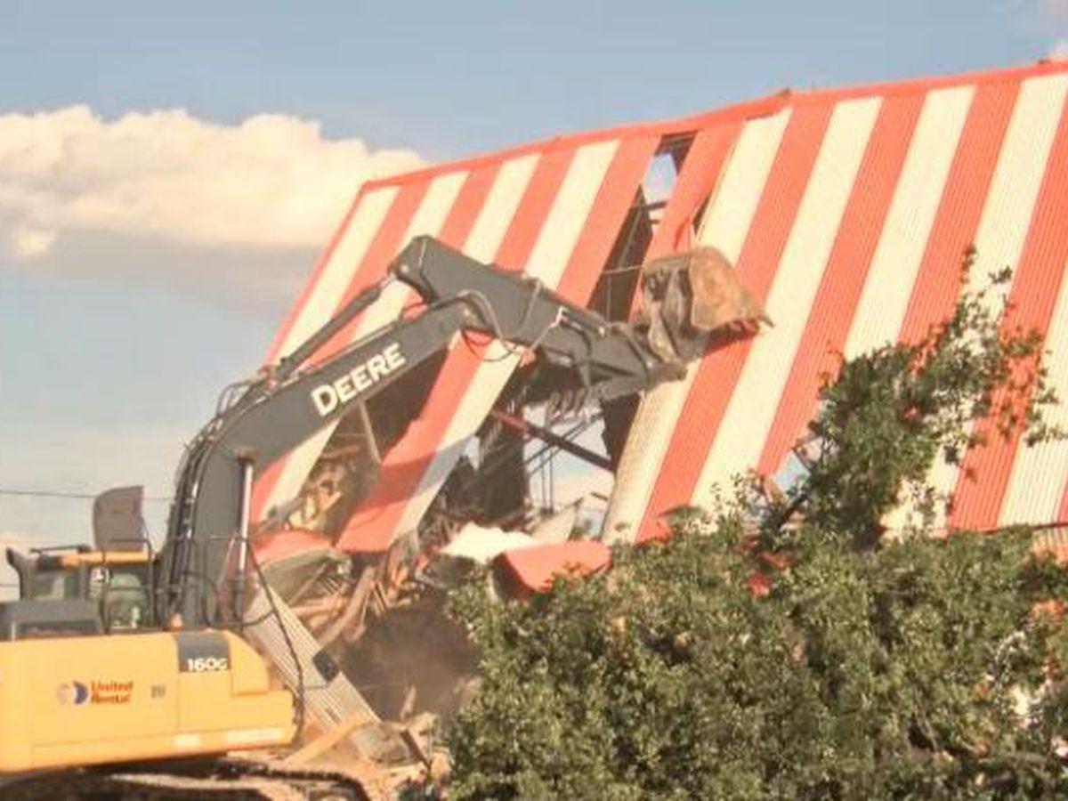 El histórico Odessa Whataburger fue demolido