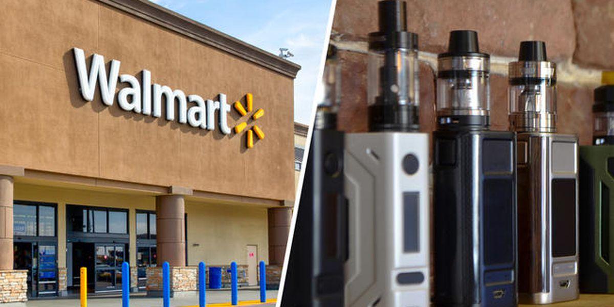 """Walmart anuncia que dejará de vender cigarrillos electrónicos en medio de la crisis del """"vapeo"""""""