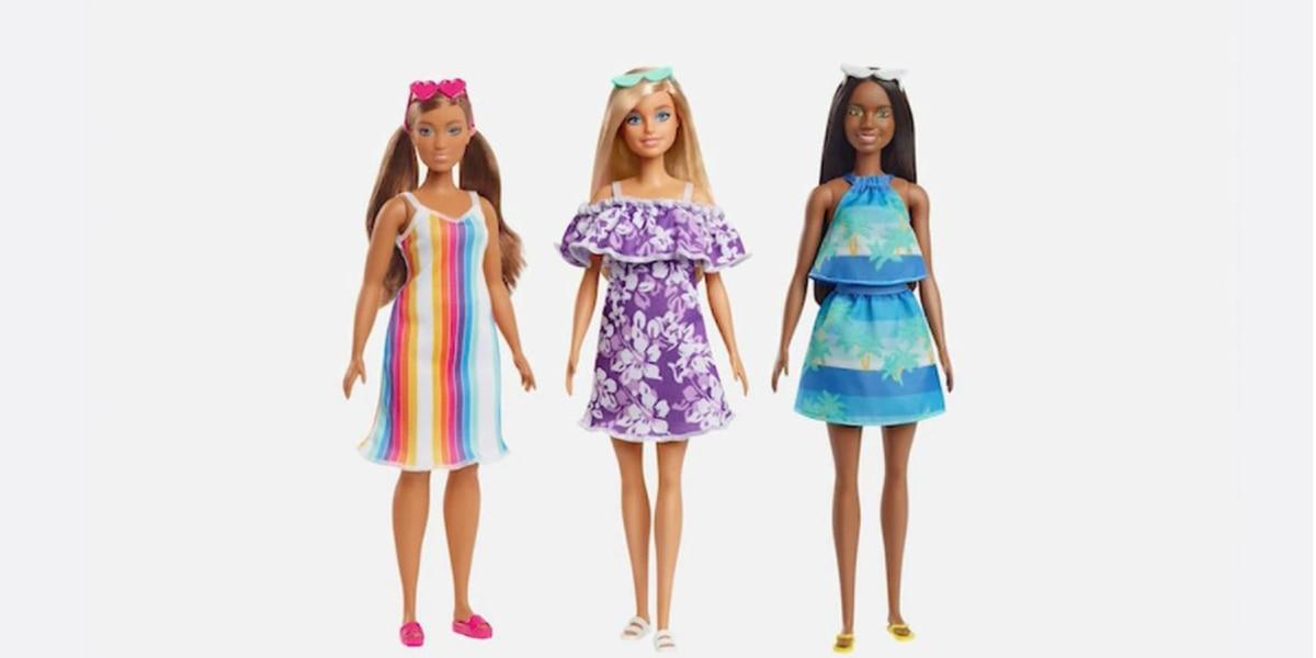 Mattel lanza nueva línea de muñecas Barbie hechas de plástico reciclado