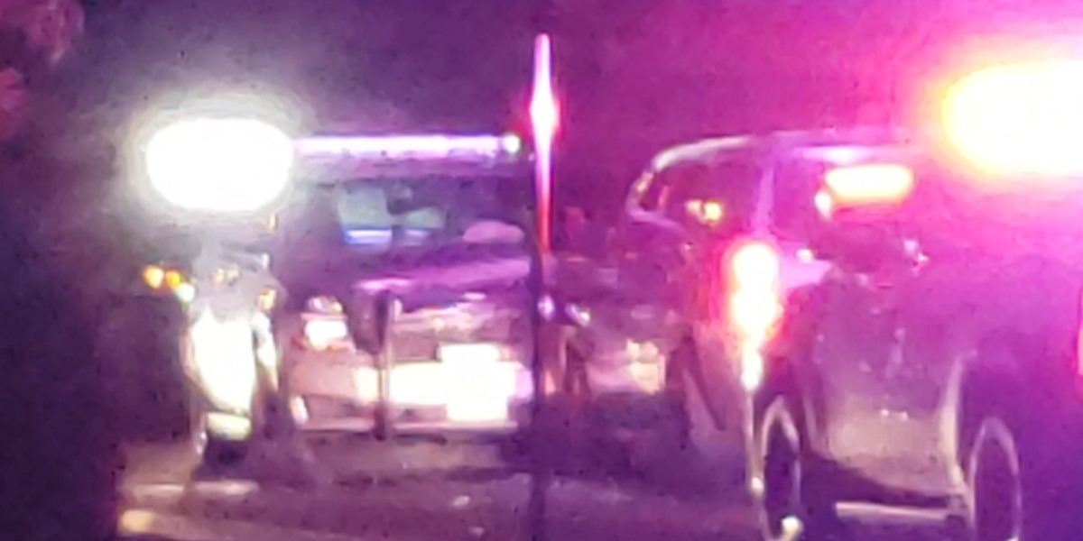 Dos vehículos de Policia chocan en Odessa