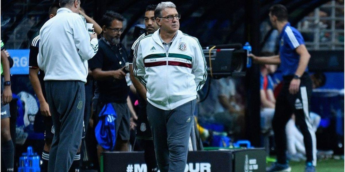 Gerardo Martino pierde el invicto al frente de la selección mexicana