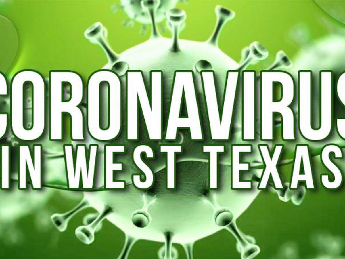 CORONAVIRUS POR LOS NÚMEROS: Condado Ector 1092 (9 muertes) Condado Midland 772 (15 muertes)