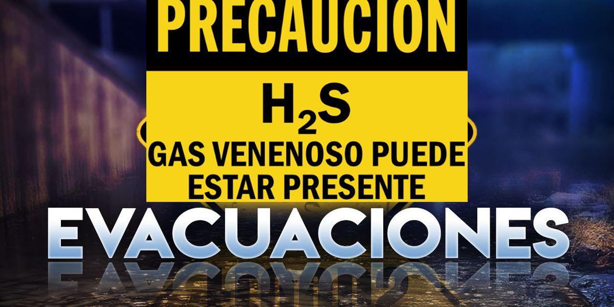 Evacaciones en proceso en una compania petrolera al Oeste de Jal Nuevo Mexico