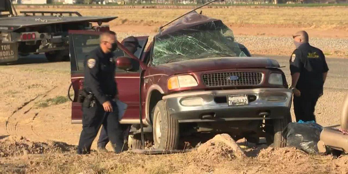 Funcionario de EE.UU.: La violación del muro fronterizo puede estar relacionada con un accidente fatal