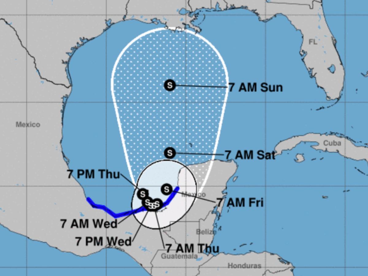 La tormenta tropical Cristobal amenaza con inundaciones en México antes de partir hacia el sur de Estados Unidos