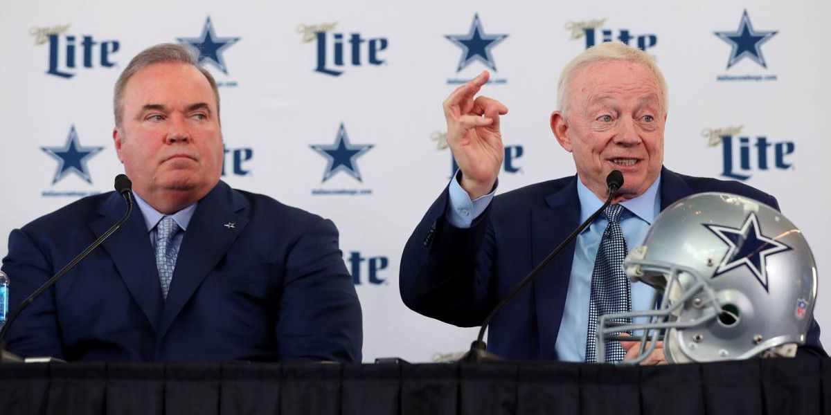 Jerry Jones presenta a Mike McCarthy oficialmente en Dallas