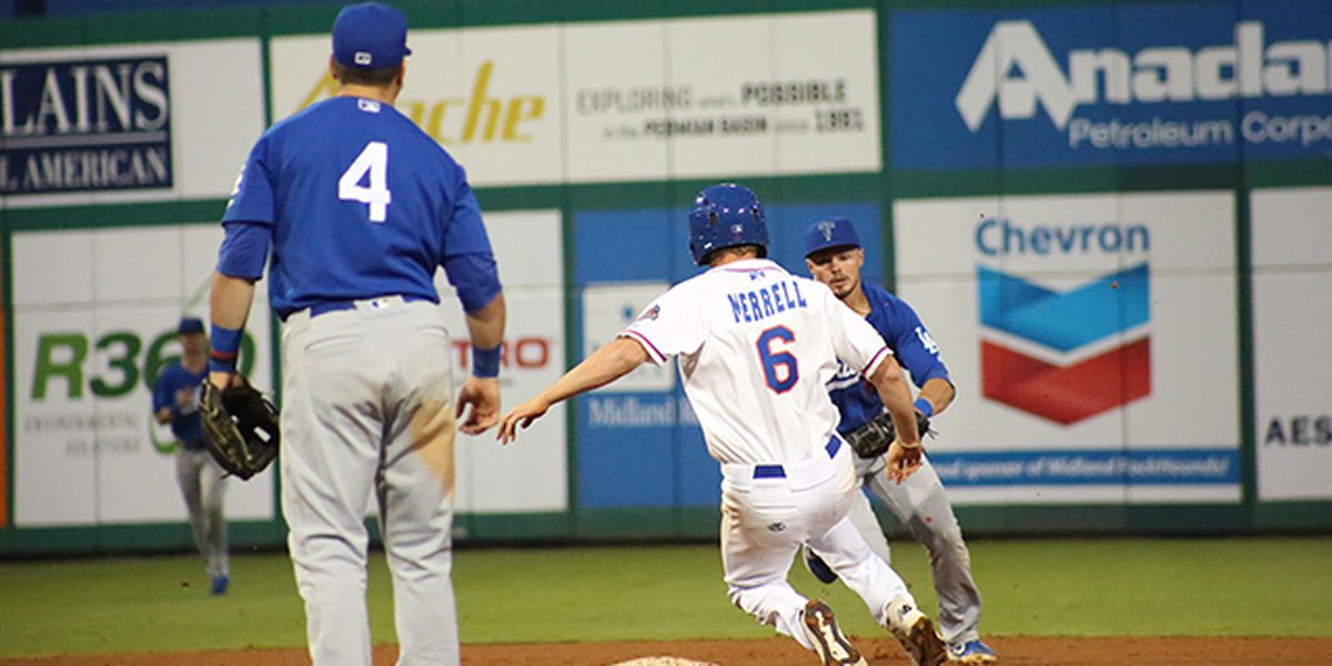 Rockhounds de Midland ganan la serie ante Hooks de Corpus Christi en el Security Bank Ballpark