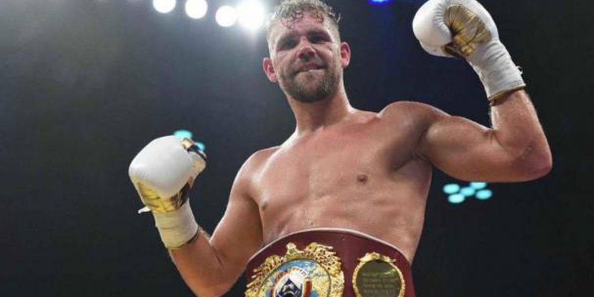 BILLY JOE SAUNDERS GANA TÍTULO MUNDIAL SUPERMEDIANO