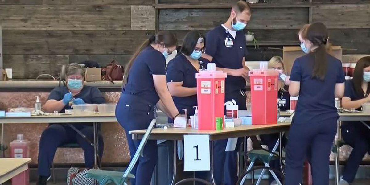 Sitio de vacunación masiva en Midland County Horseshoe que finalizará el 30 de abril