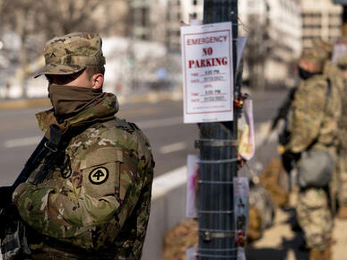 Washington, blindado por militares por la amenaza de seguidores de Trump