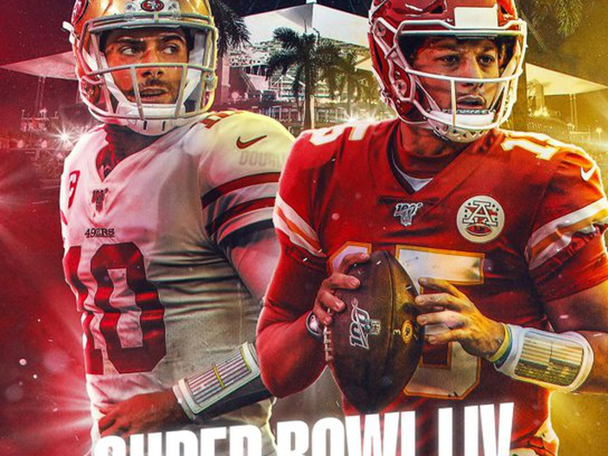 KANSAS CITY CHIEFS Y SAN FRANCISCO 49ERS, LOS INVITADOS AL SUPER BOWL LIV
