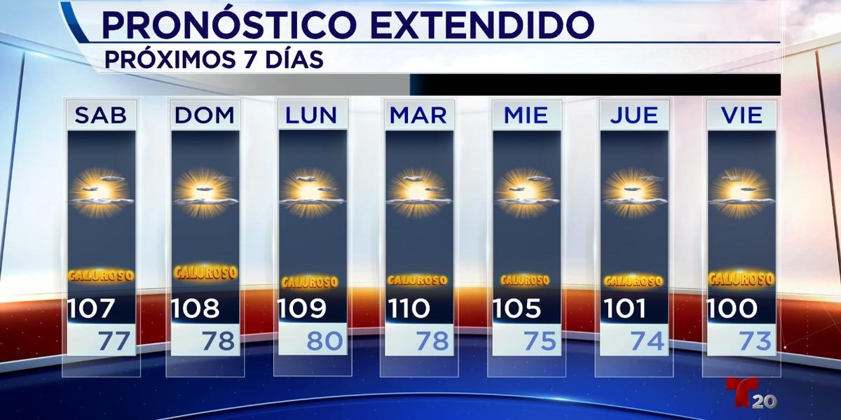 Se pronostica calor extremo para los próximos días.