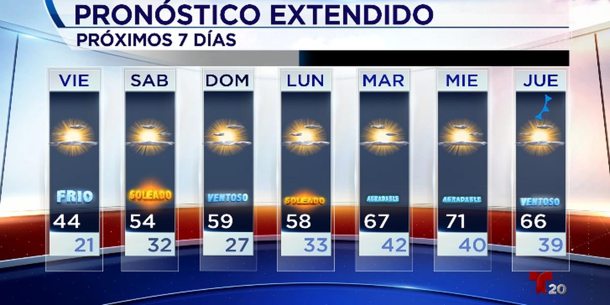Otra noche gélida, ¡pero nuestro ascenso de temperaturas comienza mañana!