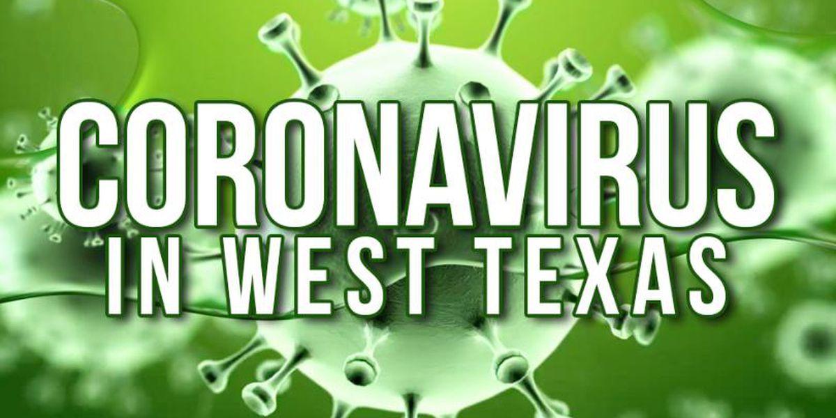 CORONAVIRUS POR LOS NÚMEROS: Condado Ector 30, Condado Midland 30, Condado Andrews 10