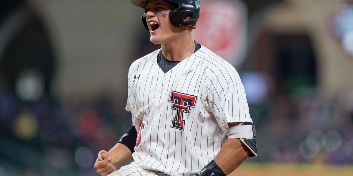 Josh Jung del Texas Tech de Lubbock firma con los Rangers como tercera base