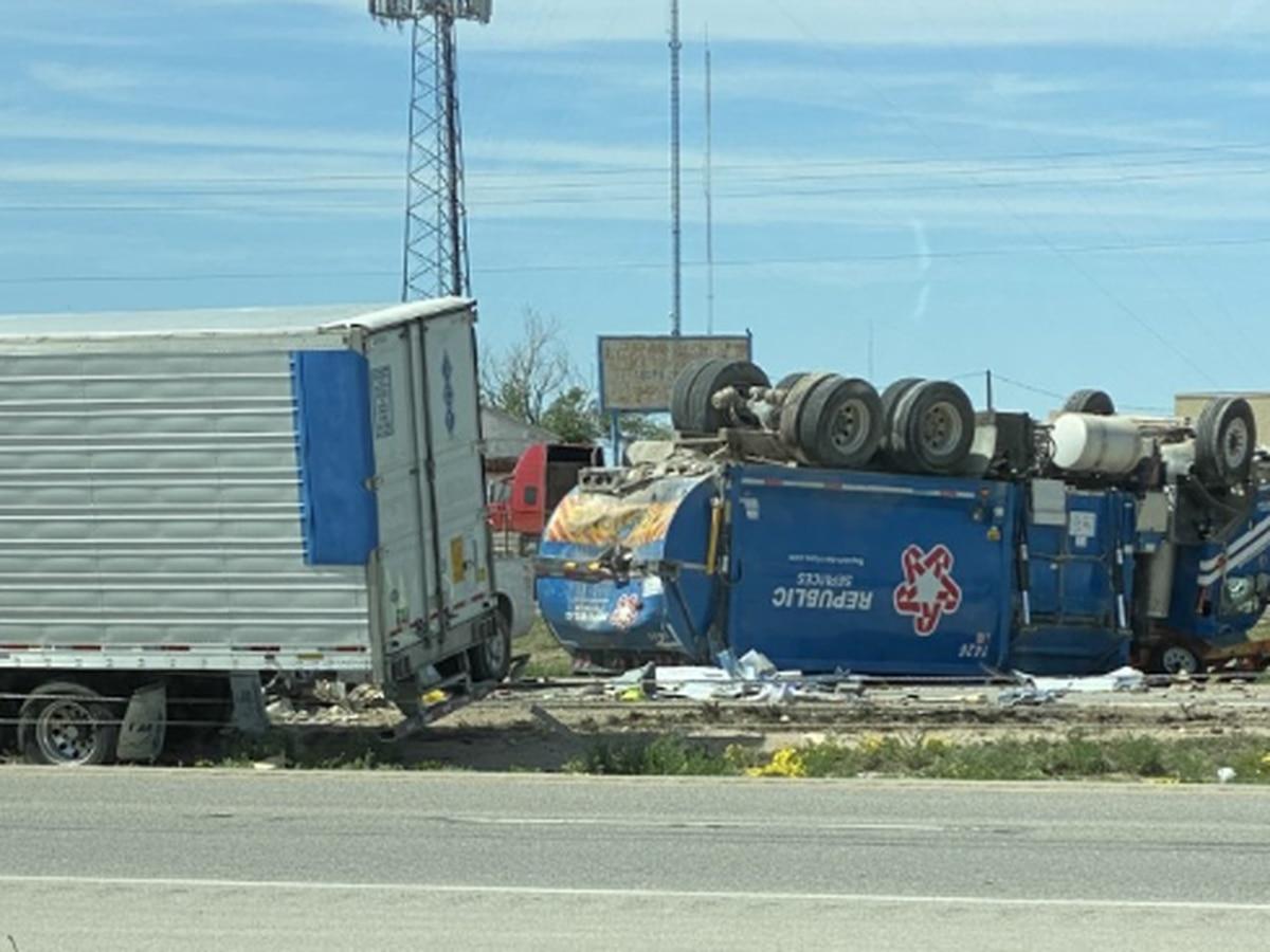 ACTUALIZACIÓN: Dos personas mueren en un accidente a lo largo de la I-20 en Midland