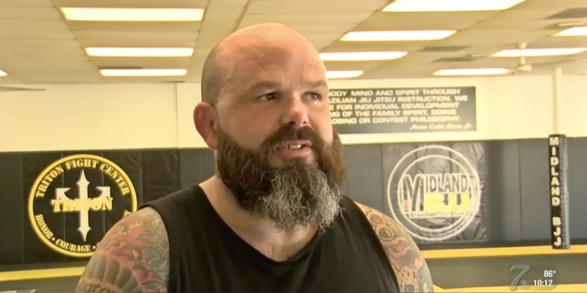 La academia brasileña de jiu-jitsu de Midland ofrece capacitación gratuita a los agentes de la ley locales