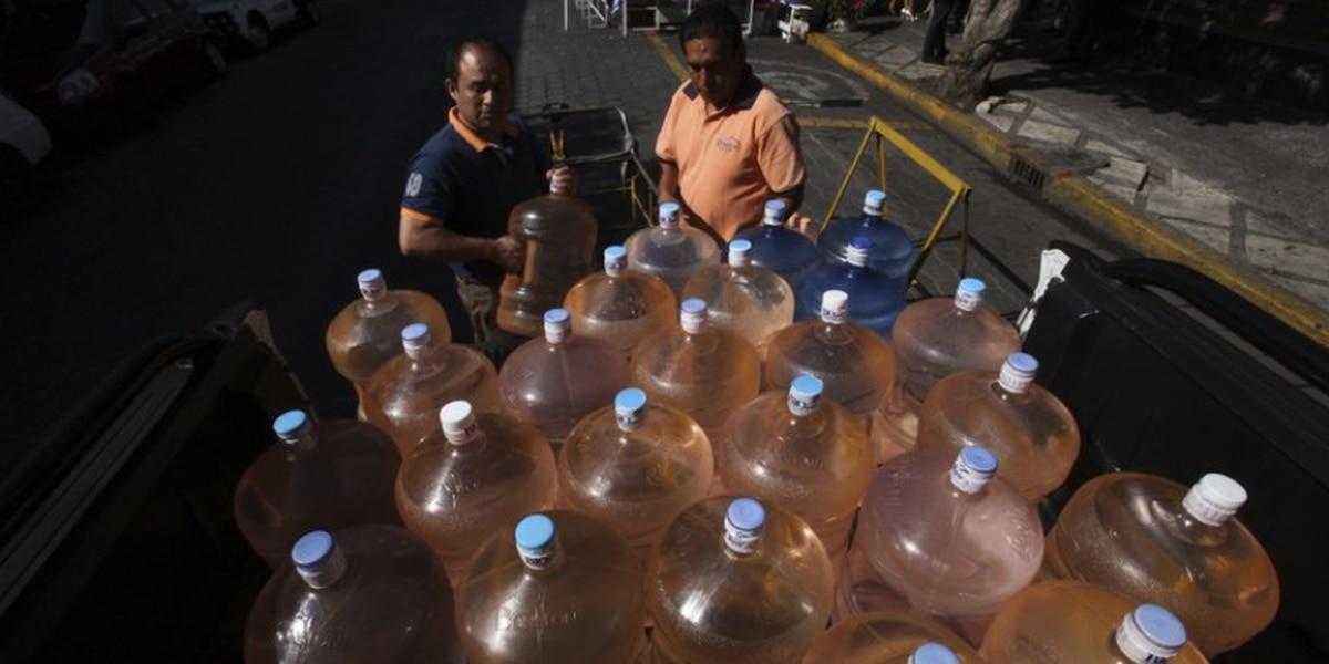 Sabotaje, posible factor en desabasto de agua en Cd. de Méx.