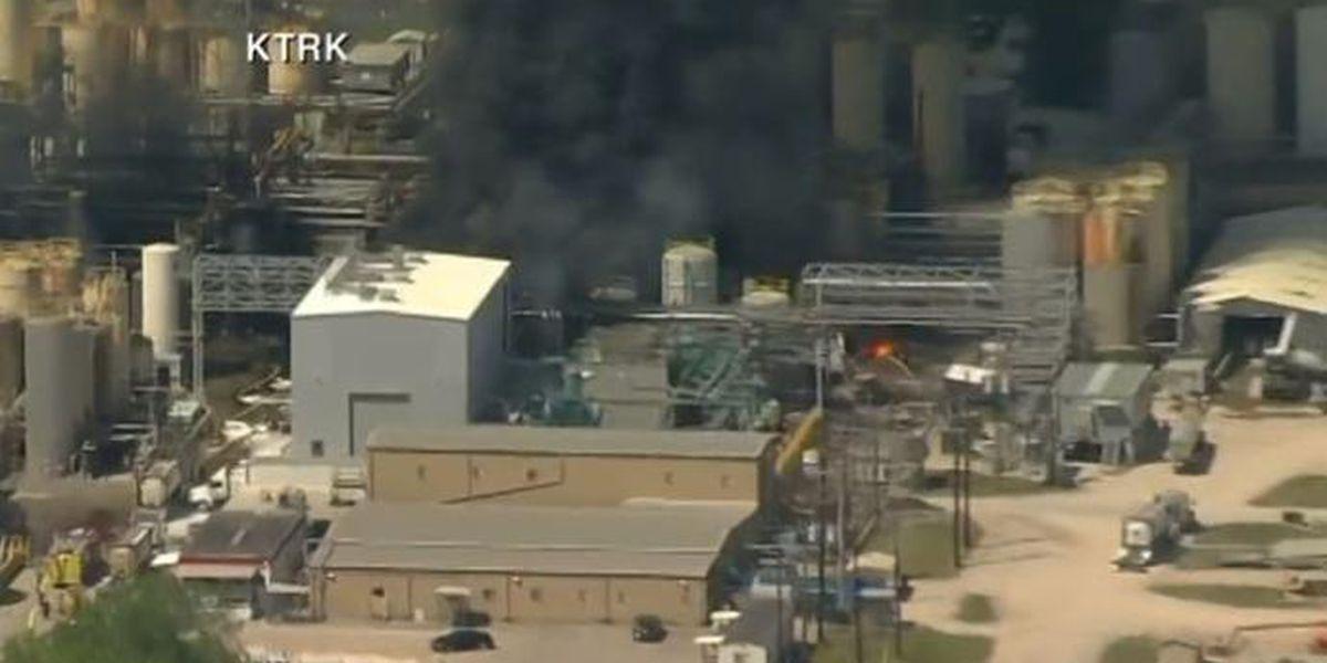 Otro fuego químico en Houston que mató a una persona y dejó a dos heridos