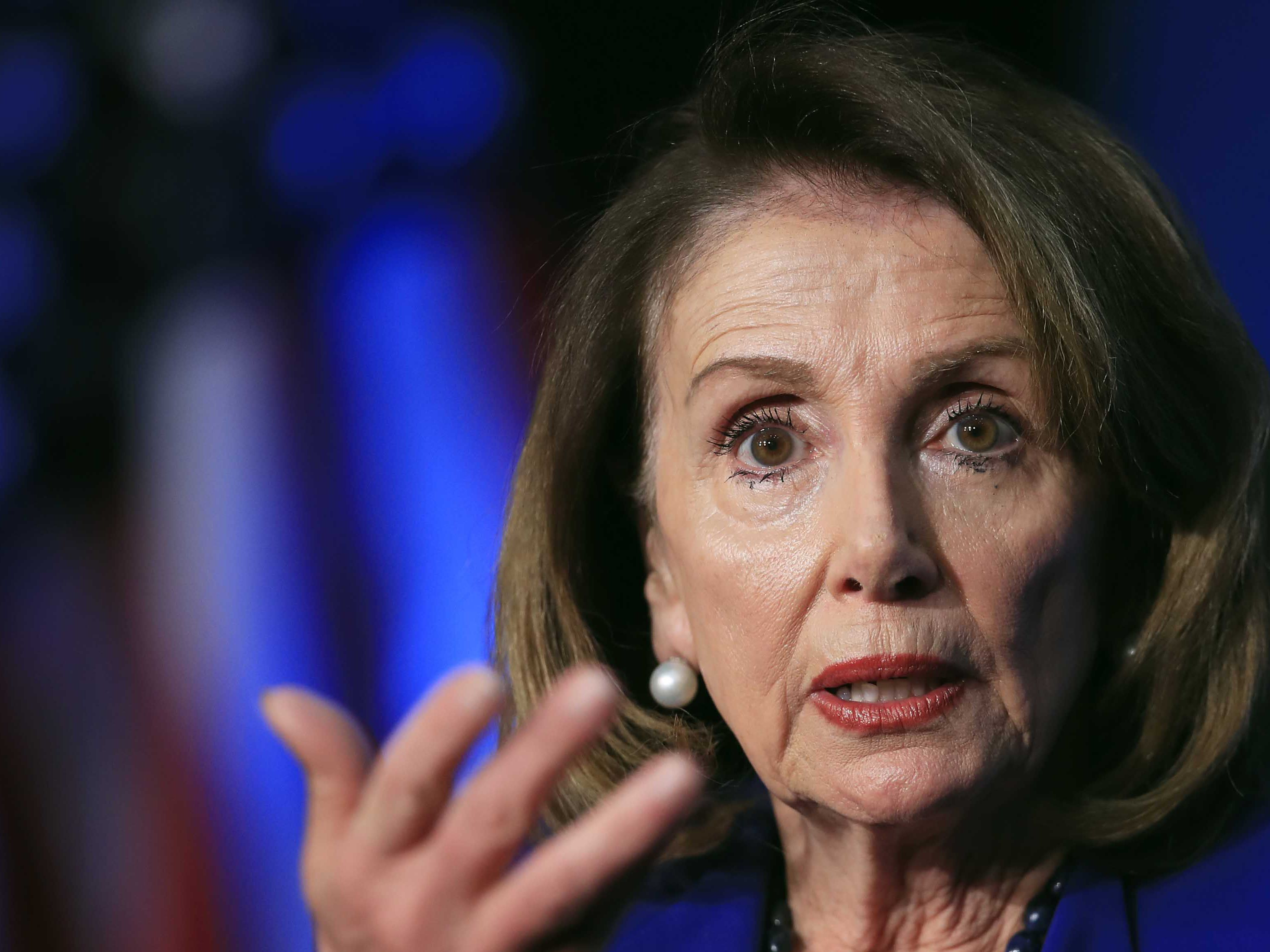 Pelosi: Impeaching Trump 'just not worth it'