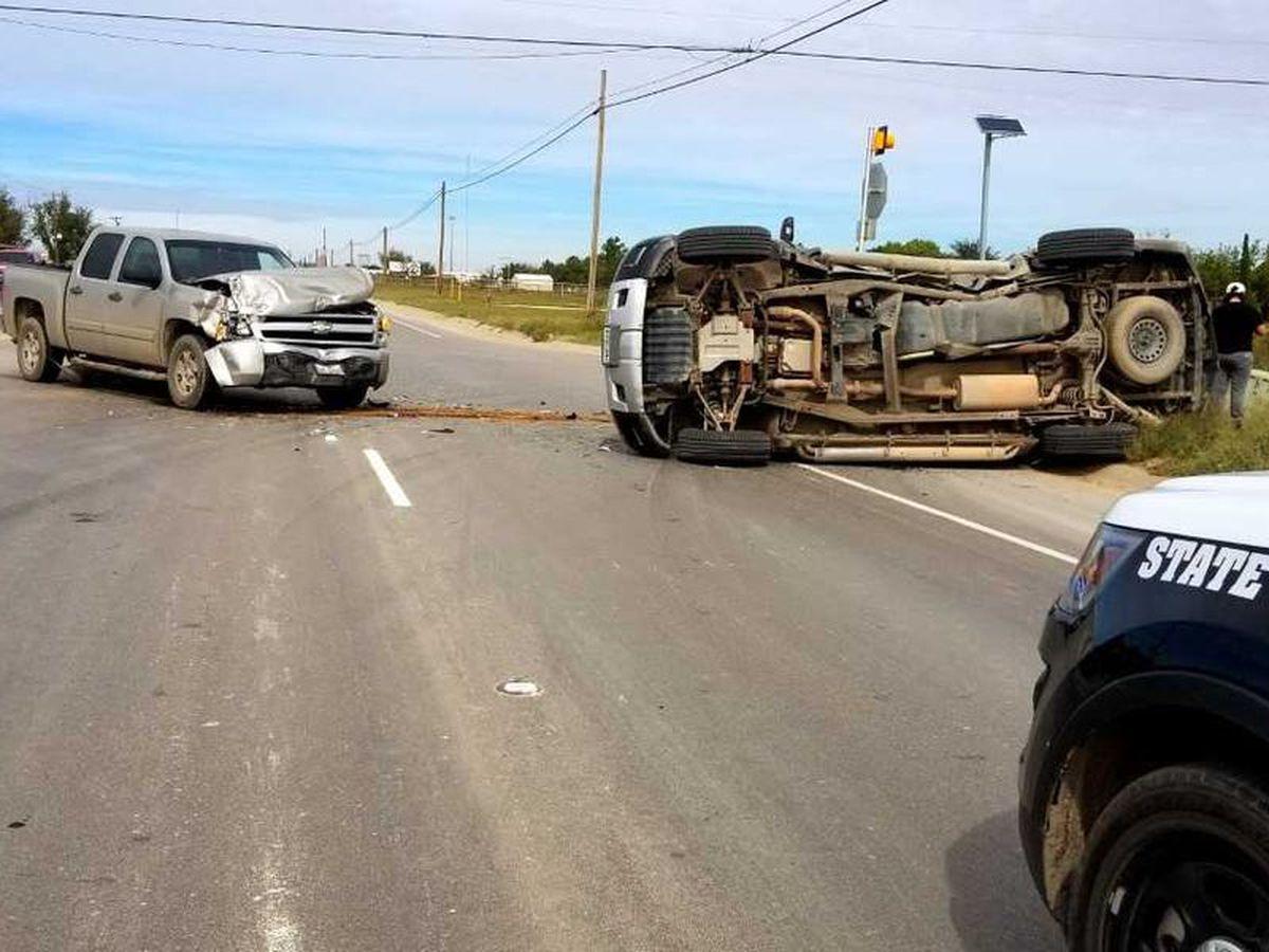 ALERTA de tráfico: el tráfico se desvía hacia el HWY 349, CR 130 debido a un accidente