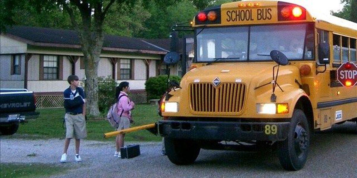 Los autobuses escolares del Condado Glasscock ISD no funcionaron hoy martes por la mañana debido a las fuertes lluvias