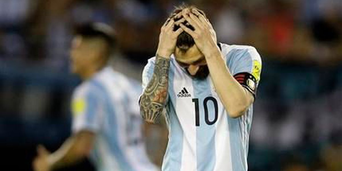 Messi suspendido por 4 partidos de eliminatorias