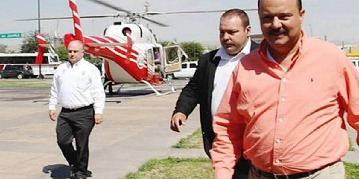 Subastaran hoy el avión donde se paseaba el exgobernador de Chihuahua Cesar Duarte y Juan Gabriel