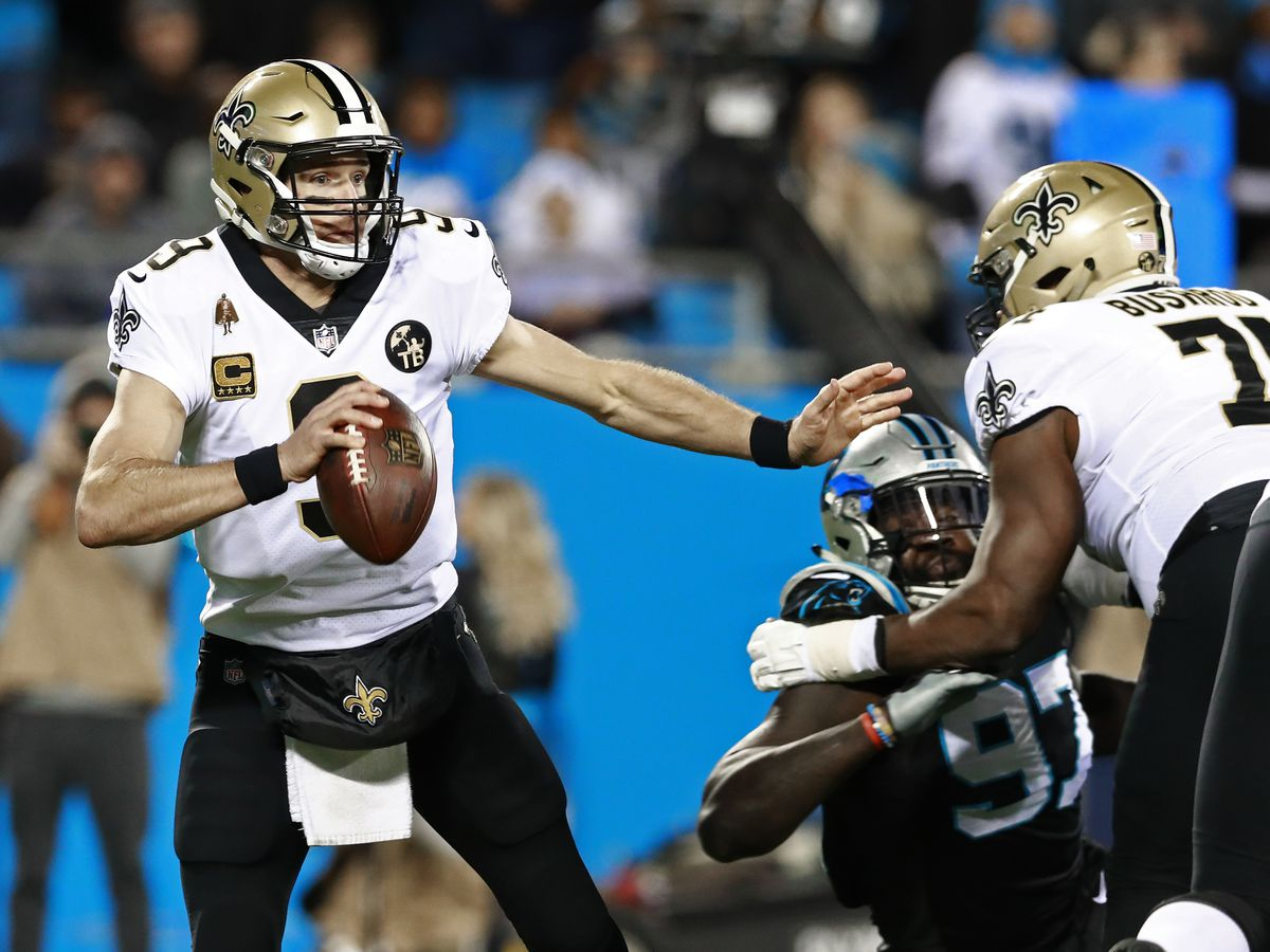 Saints' D puts clamps on Newton in 12-9 win over Panthers