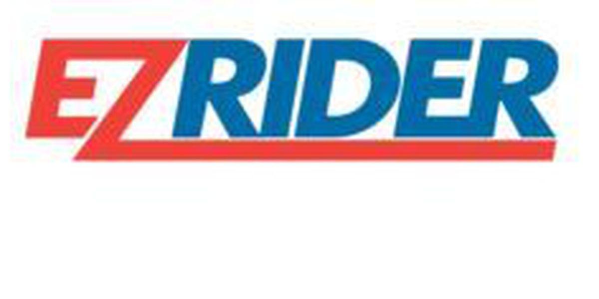 Dos autobuses de EZ-Rider dejaran de correr el Lunes