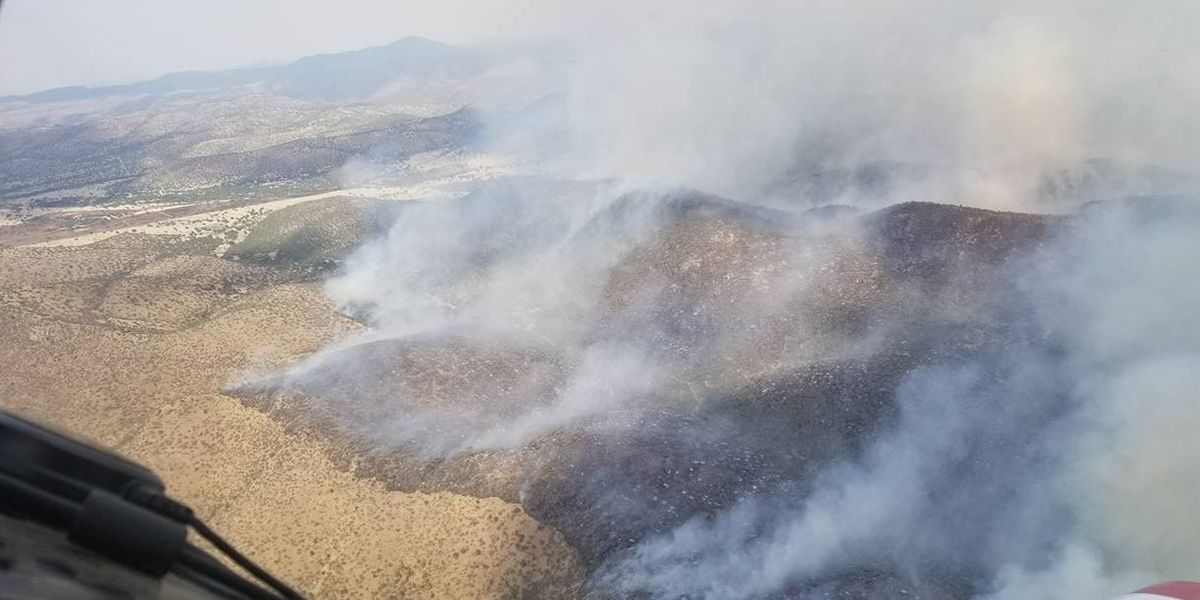 Bomberos en el condado jeff davis continúan combatiendo varios incendios