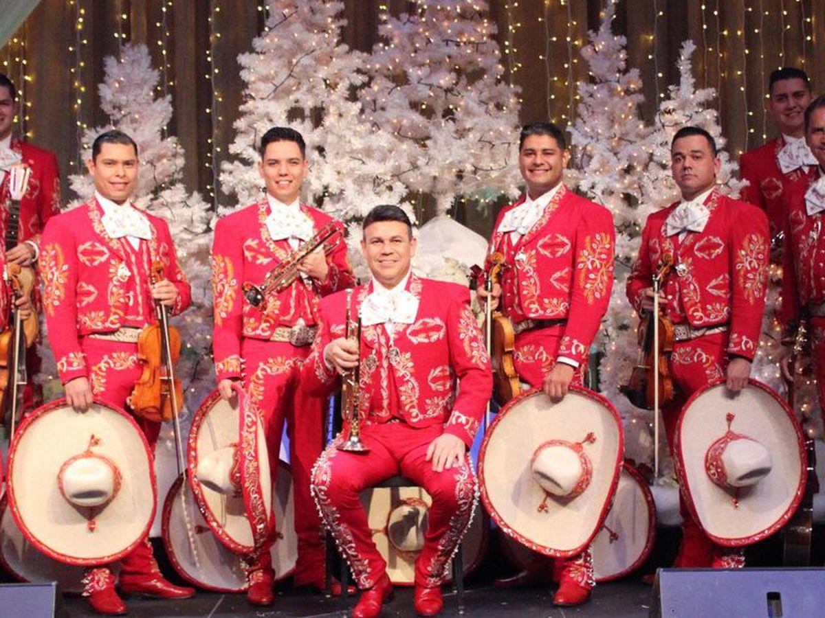 Mariachi Sol de México se presentará en Wagner Noël