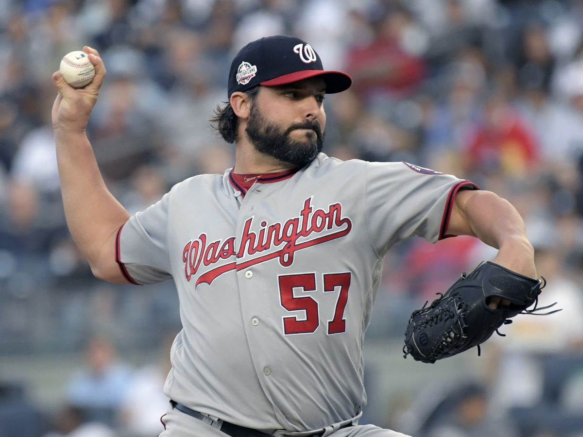 A trade of Tanners: Nats send Roark to Reds for Rainey
