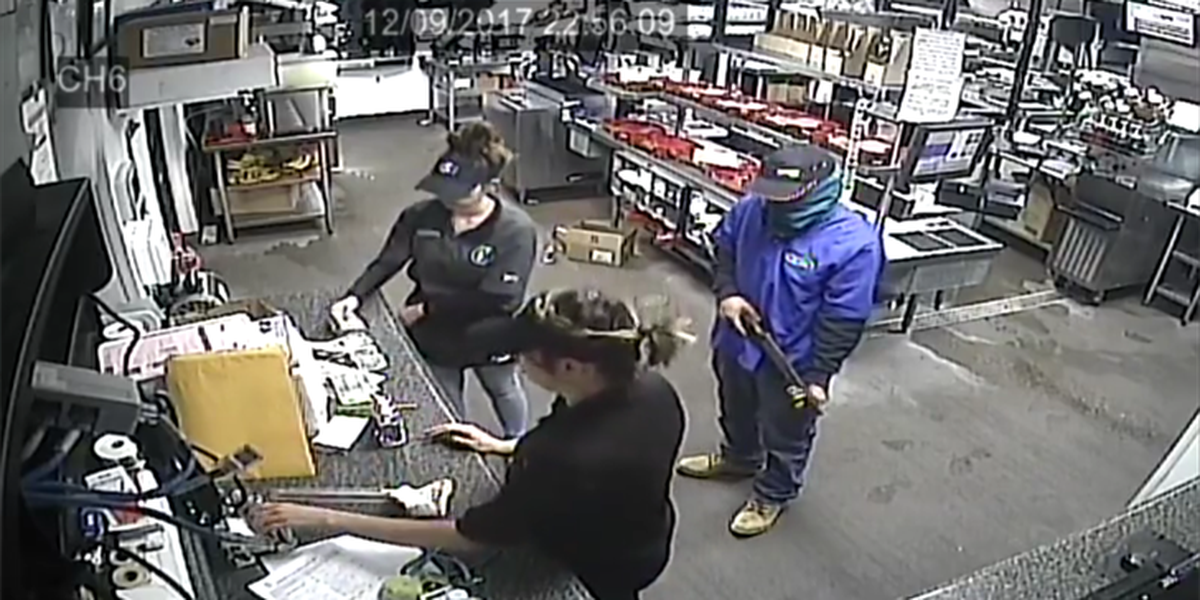 Autoridades buscan a un sujeto que robo un restaurante a mano armada en Odessa
