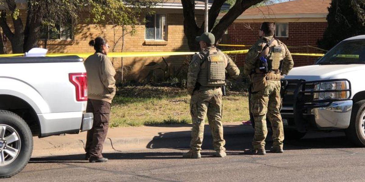 Investigación conjunta con varias autoridades de la ley lleva a una búsqueda en una casa de Midland