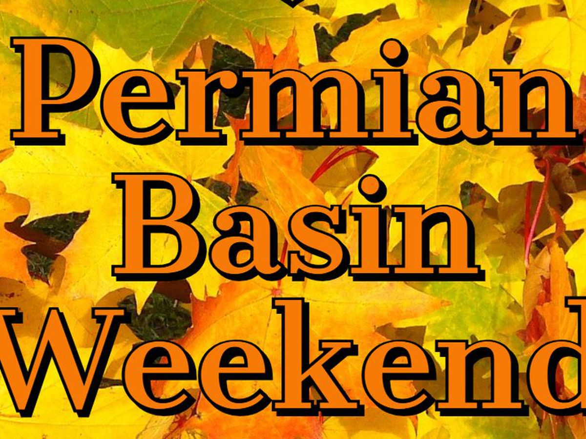 Fin de semana en el Permian Basin: 10/19-10/21: eventos para toda la familia