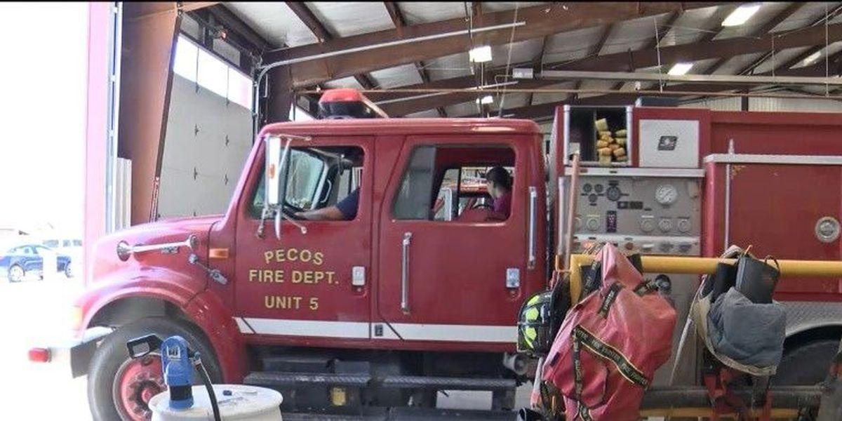"""La cuidad de Pecos tendrá un servicio """"full-time"""" para su estación de bomberos"""