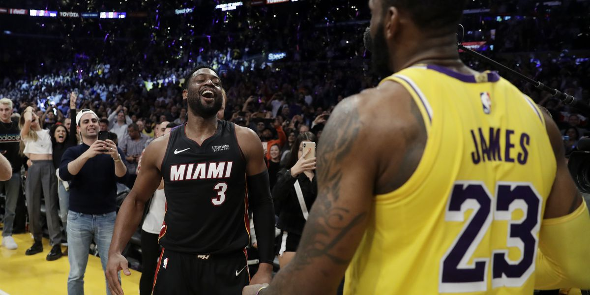 Wade, James embrace final chance to compete on court